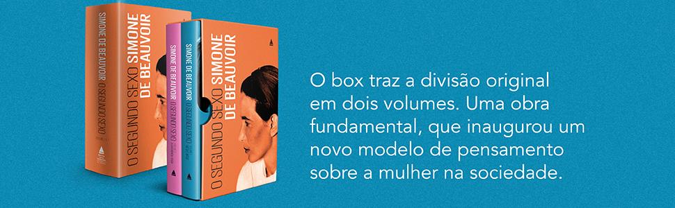 box, Simone de Beauvoir, mulher