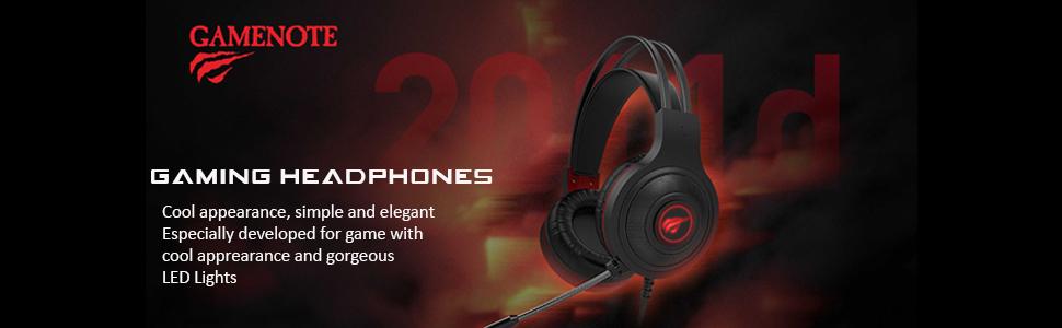 H2011d gaming headphones