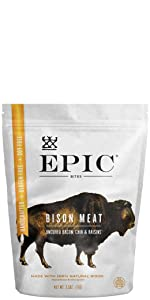 Bison Bacon Chia