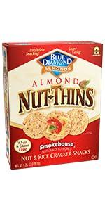 Nut-Thins Cracker Crisps, Smokehouse