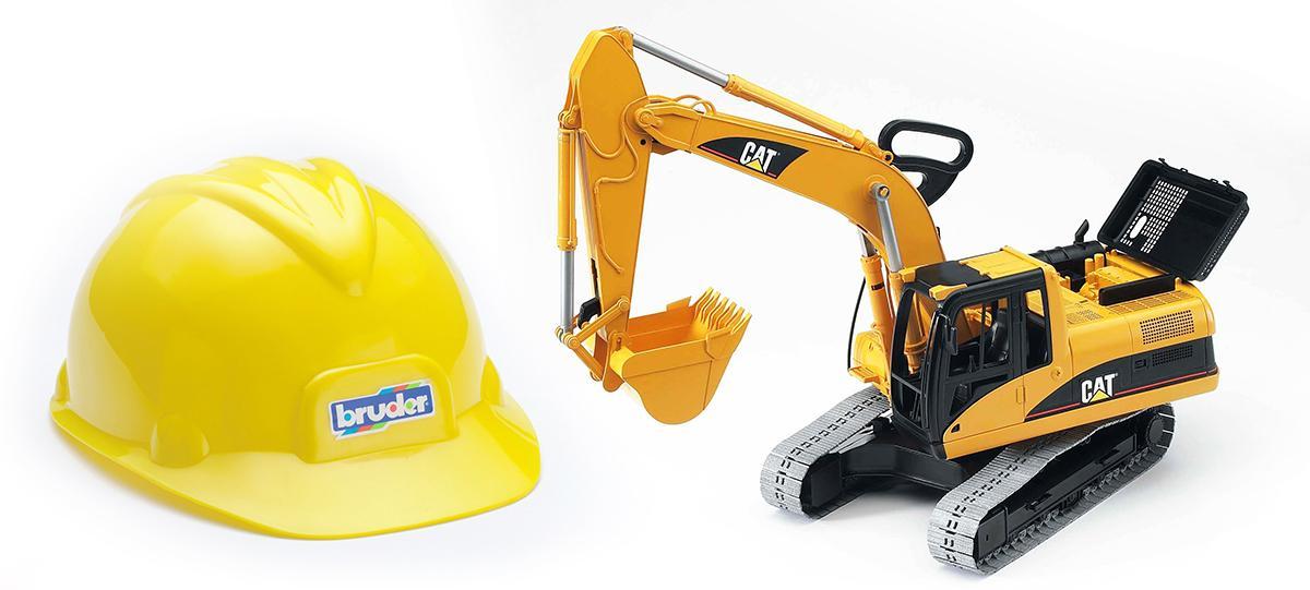 Bruder Construction Toys : Amazon bruder construction toy hard hat toys games