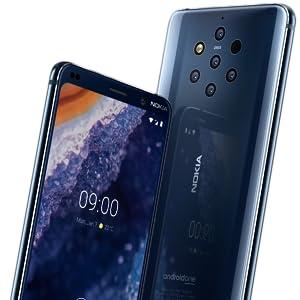 Nokia 9 Vorderseite und Rückseite