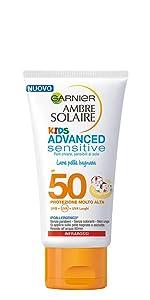 latte solare pelle bagnata, latte solare effetto pelle bagnata, latte solare per bambini,