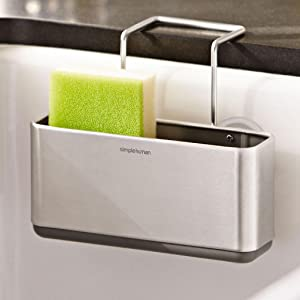 Amazon Com Simplehuman Slim Sink Caddy Brushed Stainless