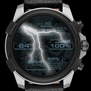 Diesel Reloj Hombre de Digital con Correa en Cuero DZT2003: Amazon ...
