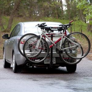 CURT Class 1 Hitch with Bike Rack