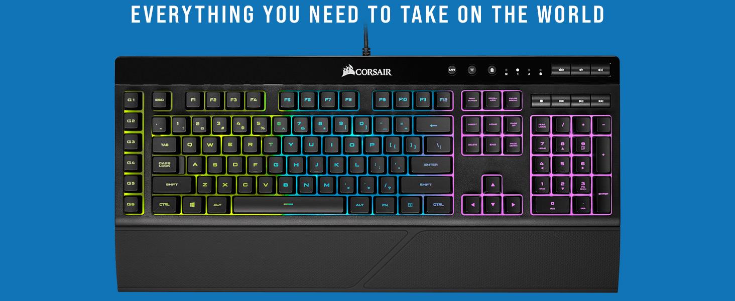 K55 RGB Gaming Keyboard