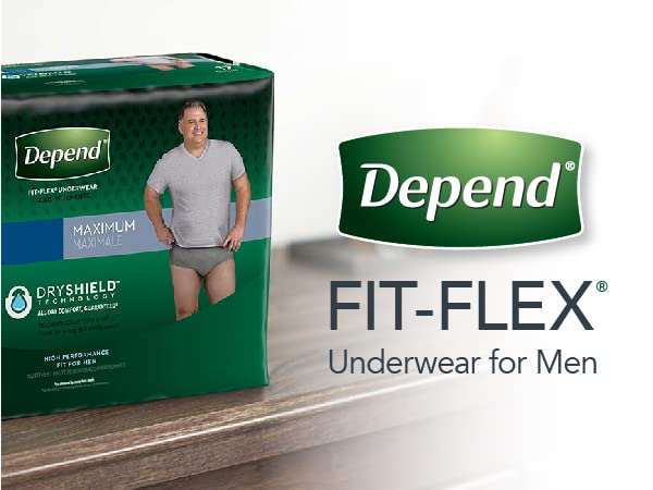 Depend Men's Mainline