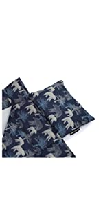urban infant toddler bulkie sleep mat with washable pillow attached blanket