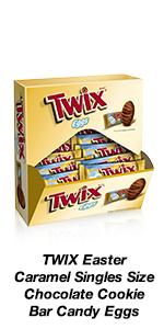 TWIX Egg Shapes are back to help with your Easter gifts.