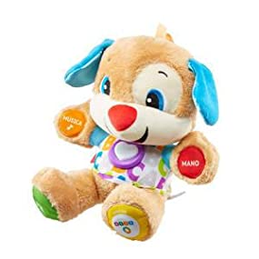 Fisher-Price Perrito primeros descubrimientos, juguete bebé +6 ...
