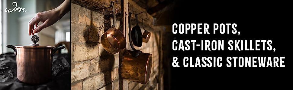 classic stoneware pot