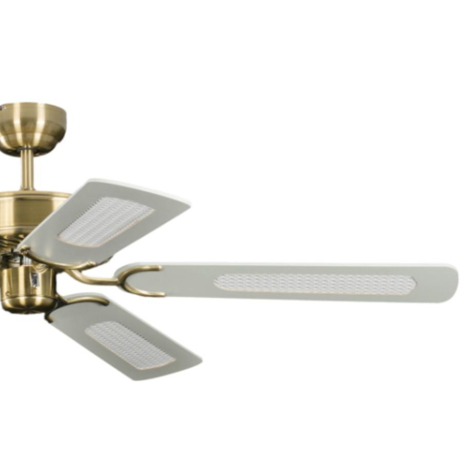 Potkuri Ventilador de techo sin Luz, Palas reversibles ...