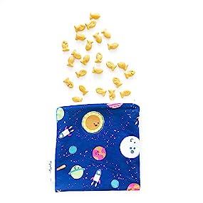 itzy ritzy, itsy ritzy, bumkins, snack bag, reusable snack bag