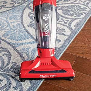 dirt devil corded vibe stick vacuum cleaner eureka bissell blaze simplistik power powerful plus mess