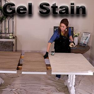 gel stain,wood stain,chalk paint,retique it