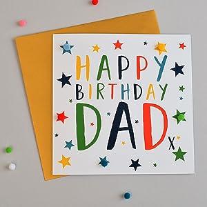 Pleasant Pom Pomhappy Birthday Papa Greeting Card Amazon Co Uk Office Personalised Birthday Cards Paralily Jamesorg