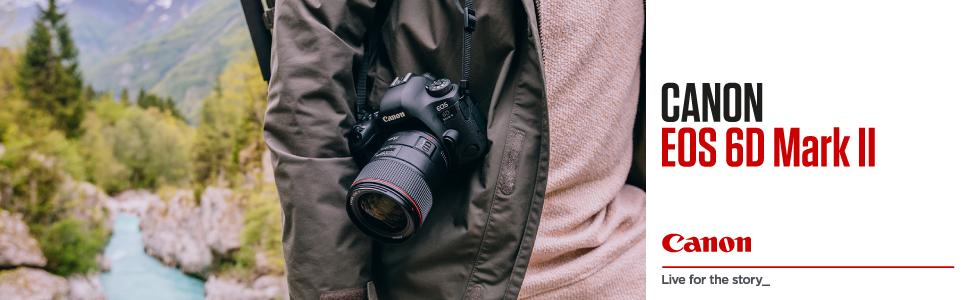 Canon EOS 6D MK II - Cámara digital réflex de 26.2 MP