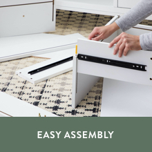 easy assembly contemporary storage chest minimal maintenance click together assembly wood dresser