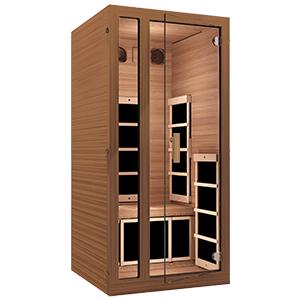 red cedar sauna, red cedar infrared sauna, infrared sauna, sauna, dry sauna, home sauna