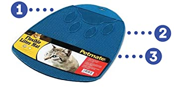 little box mat, litter mat for cats, black mat for cat litter, black cat mat, cat mat for litter box
