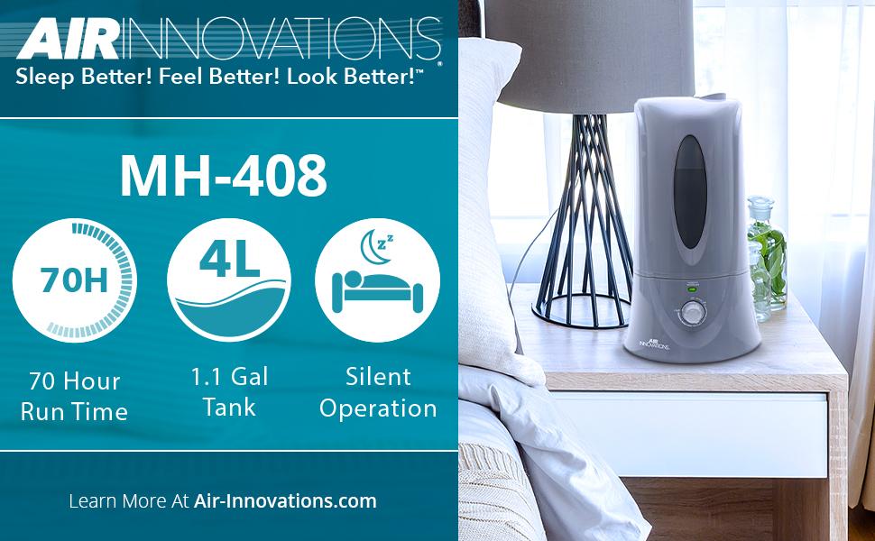 Manual Humidifier, Variable Mist Humidifier, Compact Humidifier, Medium Room Humidifier