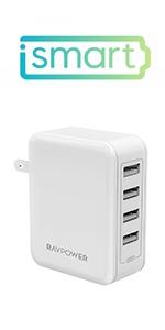 40W USB充電器 RP-PC026