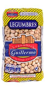 Guillermo Alubias Blancas Riñón Legumbres Calidad Extra ...