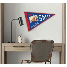 Southern Methodist Mustangs Pennant Clip-It Photo Frame