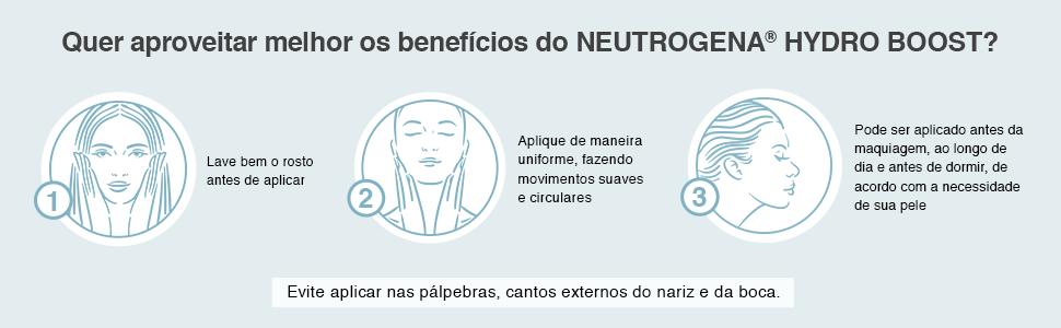 Quer aproveitar melhor os benefícios do Neutrogena Hydro Boost?