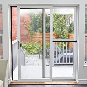 Patio Door Security & Ideal Security SK110 Patio Door Security Bar Child-Proof Lock ...