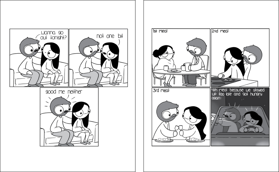 In Love & Pajamas: A Collection of Comics about Being Yourself Together:  Amazon.ca: Chetwynd, Catana: Books