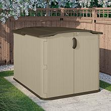 Beau Horizontal Storage Shed.