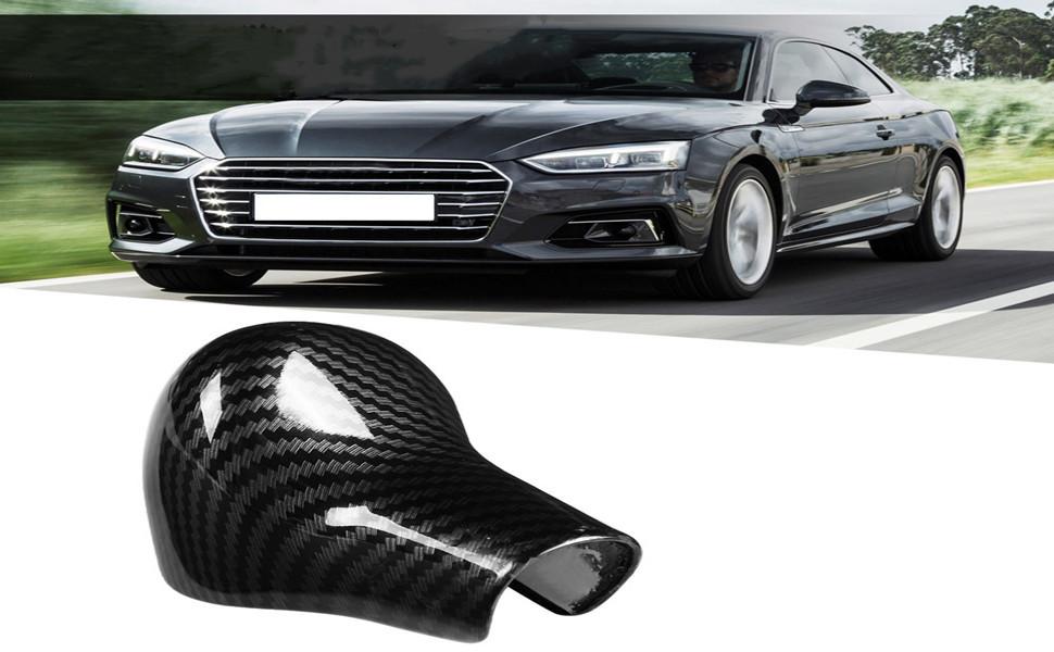 Schaltknaufabdeckung Verkleidung Für Schaltknaufabdeckung Im Car Carbon Style Für A5 A6 Q7 A4 Q5 2012 2016 Auto
