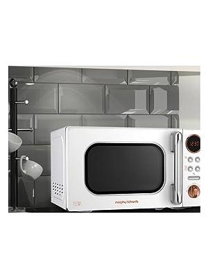 Morphy Richards 51150 20L Microwave Black Rose Gold