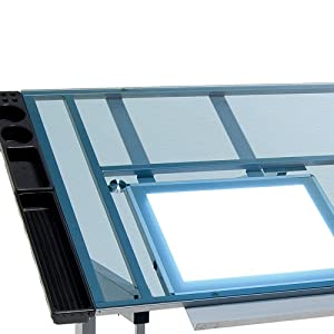 light table, craft table with light, hobby table with light