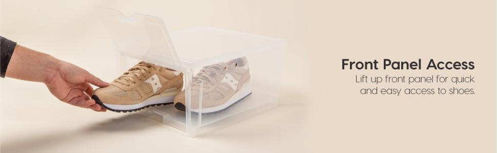 plastic shoe boxes,plastic shoe boxes with lids,sneaker box,sneaker boxes,shoe containers,shoe boxes