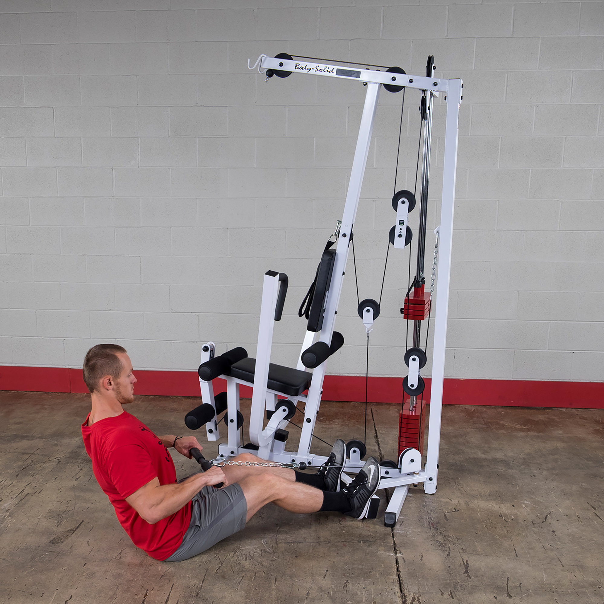 Body solid exm s single stack home gym gyms