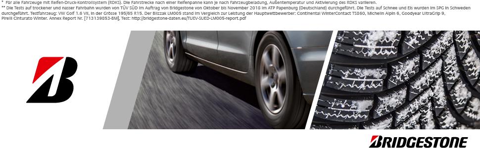 Bridgestone Blizzak Lm005 235 65 R17 108h Xl B A 72 Winterreifen Pkw Suv Auto