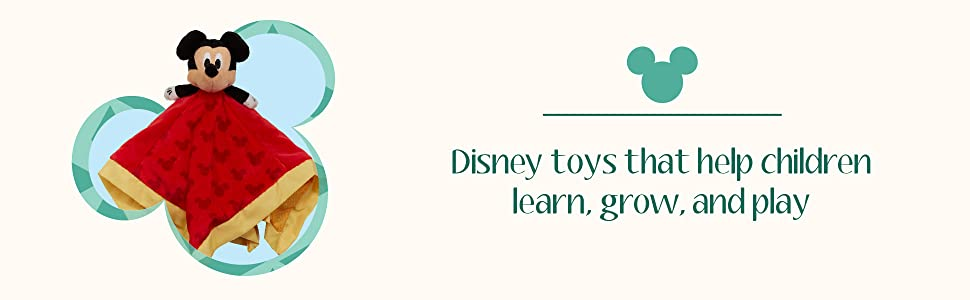 Disney Toys that help children learn, grow and play