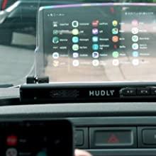 Casting Android phone screen to Hudly Wireless head-up display HUD