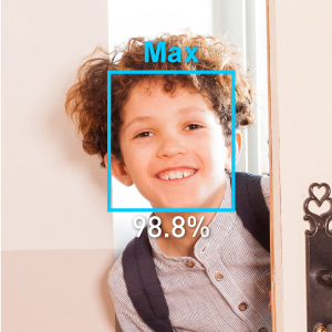 amaryllo auto tracking security camera face facial recognition alert home kid