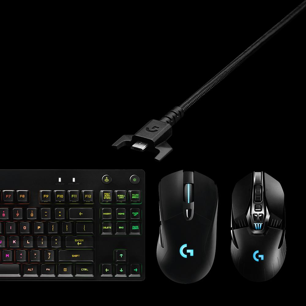 Logitech G Pro Mechanical Gaming Keyboard Tkl Tenkeyless View Larger