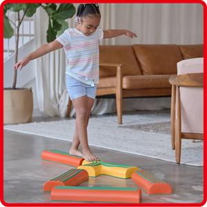 gymnastics equipment for home, balance beam, homeschool supplies, obstacle course for kids,preschool
