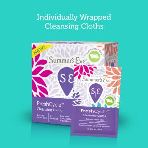 individually wrapped cleansing cloths