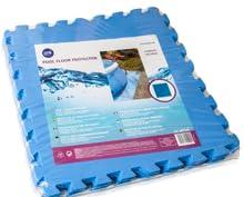 Gre MPF509 - Protector de Suelo para Piscina, 9 piezas, Color Azul ...