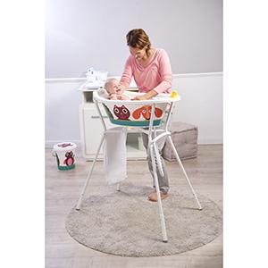 Asiento para ba/ñera de beb/é Rotho 20212000177 STyLE color blanco