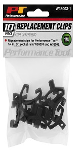 Wilmar; Performance Tool; Socket; Clips; Rail; Replacement