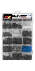 Trim Clip; fasteners; bumper; clips; GM; Ford; Chrysler; Black ...