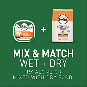 Wet plus dry, try alone or mixed with dry food, diet dog food, Kitchen, Nutrish, Mix in Dry Dog Food